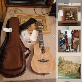 MaxSold Auction: This online auction features Keith Urban ukulele, crystal ware, international decor, framed wall art, Audiovox DVD players, computer accessories, vintage projectors, small kitchen appliances, glassware, dishware, Raleigh bicycle, power tools, stained glass supplies and much more!