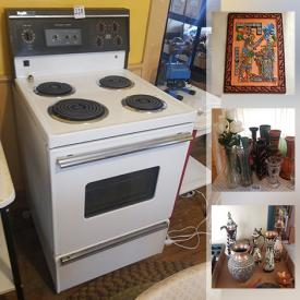 MaxSold Auction: This online auction features Corn Husk Dolls, Refridgerator, Area Rugs, Stove, Masks from Around the World, TV, Indigenous Art, Travel Souvenirs, Jade Figures, Soapstone Carvings, Collectible Spoons, Vintage Furniture, Vintage Instruments, Vintage Toys, Wicker Furniture, Stamps and much more!