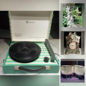 MaxSold Auction: This online auction features Garden Statue, Vintage Toys, Figural Boudoir Lamp, Costume Jewelry, LPs, Dollhouse Furniture, Royal Family Collectibles, Scrapbooking Supplies and much more!