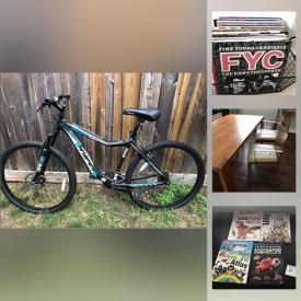 MaxSold Auction: This online auction features Walnut Dining Chairs, Indigenous Hand Made Art Quilt, Mountain Bikes, Costume Jewellery, NIB Beauty Products, Playmobil Sets, Legos, LPs, Board Games, Outdoor Furniture, Coins, Fabric Rolls and much more!