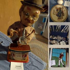 MaxSold Auction: This online auction features Delftware, Irish Belleek, Collectible Teacups, Hummels, Antique Lamp and much more!