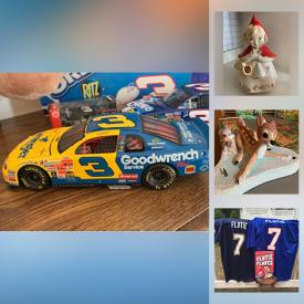 MaxSold Auction: This online auction features NASCAR, Dale Earnhardt, Disney Bambi, Lady and the Tramp, many vintage items, a Sentry Safe, tools, MCM dishes, antiques and much more!