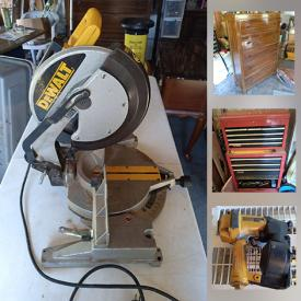 MaxSold Auction: This online auction features Power & Hand Tools, NIB Generator, Garden Shredder, Fishing Gear, Portable Massage Chair, Engine Hoist, Milking Machine and much more!