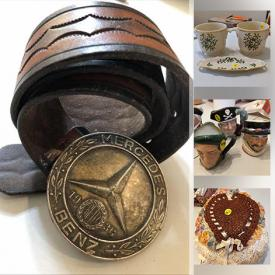 MaxSold Auction: This online auction features Mattel toys, trading cards, star wars toys, rugs, china, silverplate, records, snorkeling gear and much more!