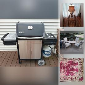 MaxSold Auction: This online auction features Broyhill Dining Room Furniture, Area Rugs. BBQ Grill, Patio Furniture, Stanley Bedroom Furniture, Storage Containers, Sewing Machine, Air Compressor, Pressure Washer, Vacuums and much more!