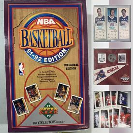 MaxSold Auction: This online auction features Pressure Washer, Sports & Non-Sports Cards, Autographed Hockey Cards, Sports & Non-Sports Figurines, Jerseys, Model Kits, Comics, Souvenir Baseballs, Royalty Collectibles, Vintage Postcards and much more!