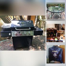 MaxSold Auction: This online auction features Disney collectibles, Outdoor Patio furniture, Garden decor, BBQ grill, Small Kitchen Appliances, Food prep, & gadgets, Pfaltzgraff, Hallmark Keepsakes Ornaments, Yard & Garden Grooming tools & Supplies, Home care & Cleaning supplies, Cookbooks, Vintage toys, games, novelties, Wizard of Oz, Dragons, Looney Tunes, Arts & crafts supplies, tools and much more!