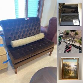 MaxSold Auction: This online auction features Seattle Seahawks Photograph, Outdoor Furniture, Games, Puzzles, Telescopes, WiFi Mesh System, Toys, Vintage Costume Jewelry, Children's Movies, Lawn Equipment, Farmhouse Style Sink, Microsoft Surface, Exercise Equipment and much more!