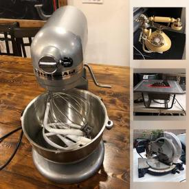 MaxSold Auction: This online auction features Outdoor Sports Equipment, Bicycles, Stereo Components, Small Kitchen Appliances, Power Tools, Rocking Horse, Pet Crates, Computer Gear, Tablets, Fire Bowl, Golf Clubs, Video Game Systems, Yard Tools and much more!