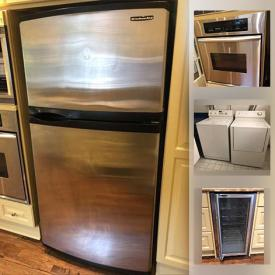 MaxSold Auction: This online auction features home fixtures such as Kohler toilet, pedestal sink, radiators of variable size, fireplace mantle, windows, exterior and French doors, light fixtures, cabinets, ceiling fans, appliances such as Panasonic microwave, KitchenAid oven, KitchenAid refrigerator, LG dishwasher, Maytag washer and dryer, Weber BBQ and much more!