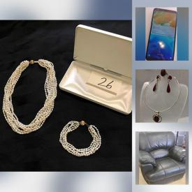 MaxSold Auction: This online auction features Costume Jewelry, Women's & Men's Clothing & Shoes, Cameras, iPhone, iPod, Headphones, Opal & 10K Gold Ring, Leather Furniture, TV, Inukshuk Figures and much more!