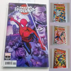 MaxSold Auction: This online auction features collectible cards such as factory sealed Pro Set NHL packs, collectible vintage comics such as Amazing Spider-Man, Marvel Tales, X-Men, Fantasy Masterpieces, Wolverine Exit Wounds, John Carter Warlord of Mars, Iron Man, The Tomb of Dracula, Avengers and much more!