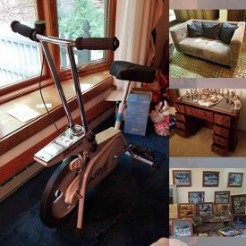 MaxSold Auction: This online auction features Wysocki Art, Sectional Sofa, Pewter Figurines, Collector Plates, Board Games, Toys, Byers Choice Figurines, Costume Jewelry, Hummels, Signed Original Paintings, Art Glass, TV, Small Kitchen Appliance, Vintage Wringer Washer, BBQ Grills, Hand & Yard Tools, Chest Freezer and much more!