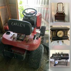 MaxSold Auction: This online auction features Antique Church Pedal Organ, Vintage Dresser, Elgin Clock, Art Pottery, Small Kitchen Appliances, Board Games, Smoker Grill, Riding Lawn Mower, Seth Thomas Mantel Clock, Salt & Pepper Shakers, Fishing Gear, Camping Gear, Dive Gear, Mary Kay Jewelry, Watches and much more!