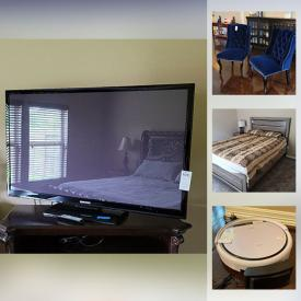 MaxSold Auction: This online auction features Computer Desk & Chair, TVs, Sofa Bed, Velvet Dining Chairs, Sofas, Area Rug, Robot Vacuum Cleaner, Small Kitchen Appliances, BBQ Grill, Garden Tools and much more!
