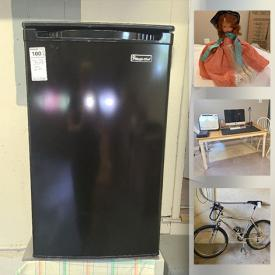 MaxSold Auction: This online auction features Bicycles, Lazy Boy, Mini Fridge, Bose, Bissell, Dyson, Office Furniture, Storybook Dolls and more.