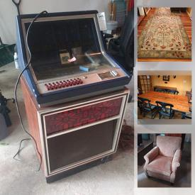 MaxSold Auction: This online auction features Garden Tools, Dog Crate, Wurlitzer Cassette Jukebox, Air Conditioner, TV, Cedar Chest, Costume Jewelry, Watch and much more!