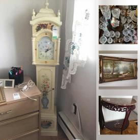 MaxSold Auction: This online auction features art, sewing machine, rugs, sofa, kitchen utensils, sealy bed and much more!