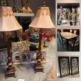 MaxSold Auction: This online auction features Swarovski Crystal Figures, Table Lamps, Kitchen Ware, Bar Glasses, Small Kitchen Appliances, Bakeware, Garden Statues, Kids Boots & Shoes, Girls Clothing and much more!