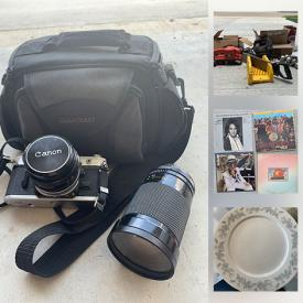 MaxSold Auction: This online auction features Wardrobe Armoire, Tires, Upright Vacuum, Small Kitchen Appliances, Cameras, LPs, Tools, Office Supplies, Dishes and much more!