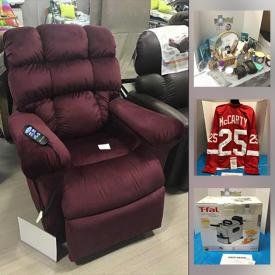 MaxSold Auction: This online Charity Fundraising auction features New items, and Gift offerings including Autographed sports items, Original art, Themed Gift Baskets, Jewelry, New Home goods, Clothing, Art supplies, Health & Beauty, Bose system, Power lift Chair, luxury offerings and much more!