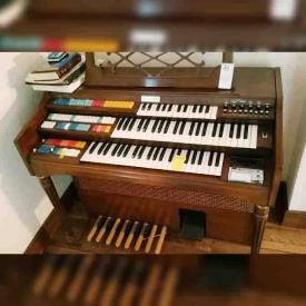 MaxSold Auction: This online auction features Mantle Clocks, Personal computer, Hand Woven Rugs, Berkly And Gay Antique Hutch, Sofa, Electric organ, Vintage Butter Churns Decor, Bamboo Furniture, Vintage Tables and much more!