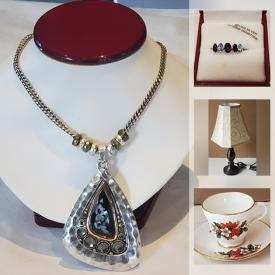 MaxSold Auction: This online auction features Vintage Cranberry Glass, Vintage Jewelry, Vintage Pyrex, Rugs, LPs, Glass Blossom Bonsai Tree, Jardinière, Vintage Lamps, Collectible Teacups, Art Glass, Vintage Hand Towels, Vintage Souvenirs, New Fitness Equipment and much more!