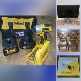 MaxSold Auction: This online auction features LED Projector, Pet Supplies, Sports Equipment, Headphones, Puzzles, Games, Camping Gear, Small Kitchen Appliances, Power & Hand Tools, Art, School & Office Supplies and much more!