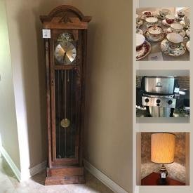 MaxSold Auction: This online auction features Double Reclining Sofa, Vintage Masks, Brass Rubbings, Vintage Pottery, Thimble Collection, Vintage Clothing, Small Kitchen Appliances, Collectible Teacups, Grandmother Clock, BBQ Grill, Collectors Plates, Metal Detector, Vintage Toys, Vintage Camping Gear, Power, Hand & Garden Tools, RC Toys and much more!