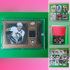 MaxSold Auction: This online auction features Ancient & Current Coins, Commemorative Coins, Pokemon Cards, Sports Trading Cards, Stamps and much more!