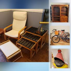 MaxSold Auction: This online auction features Workshop Contents, Ikea chair, Patio Swing, Toys, Games, Fishing Gear, Tools, Patio Furniture and much more!