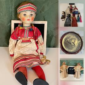 MaxSold Auction: This online auction features Small Kitchen Appliances, Camera Equipment, Art Pottery, Dolls from Around the World, Puppets, Office Supplies, Cross Country Skis, Camping Gear, Stamps, Coins, Bike Accessories and much more!