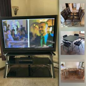 MaxSold Auction: This online auction contains recliners, dressers, car jack system, mini-refrigerators, dining table and chairs, hutch cabinet and ski equipment.