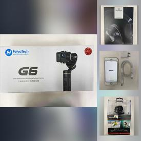 MaxSold Auction: This online auction features Smart Phones, Smart Watches, and NIB items such as Gaming Gear, Body Cam, Hand Tools, Bluetooth Speakers, Solar Light, Ring Lights, Beauty Appliances and much more!