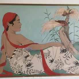 MaxSold Auction: Beautiful Asian art is the feature in this Williamsburg Virginia Downsizing Estate Sale Auction hosted on MaxSold. Items in this auction include Japanese prints, six paneled art piece, Japanese plates and bowls and more!