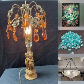MaxSold Auction: This online auction features Vintage Inlaid Serving Tray, Jewelry & Watches, Delft Salt & Pepper Shakers, Porcelain Dolls, NIP Glass Beads, Brass Figurine, Vintage Doorknobs, NIP PEZ Dispensers, Vintage Table Lamps, Office Supplies and much more!