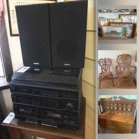 MaxSold Auction: This online auction features Indigenous Art, Chinese Decor, Art Supplies, Wicker Furniture, Carved Masks, Ling Weston Original Art, Vintage Trunk, Apothecary Jars, Small Kitchen Appliances, Chest Freezer, Ling's Famous Cards, Garden & Hand Tools, Lawnmower, Folding Bike and much more!