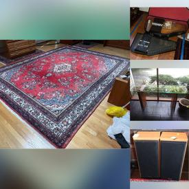 MaxSold Auction: This online auction features furniture, vintage household items including sewing machines, typewriter, refrigerator, stereo equipment. Also featuring various glassware and china including Lenox, Waterford, Limoges, Noritake along with a collection of books and much more!