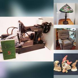 MaxSold Auction: This online auction features Porcelain Figurines, Cookie Jars, Coins & Banknotes, Hummel Figurines, Fenton Glass, Vintage Snuff Bottles, Jewelry, Watches, Vintage Costume Jewelry, Vintage Diecast, Antique Oak Roll Top Desk, Precious Moments Figurines, Air Compressor, Mini Fridge, TV and much more!