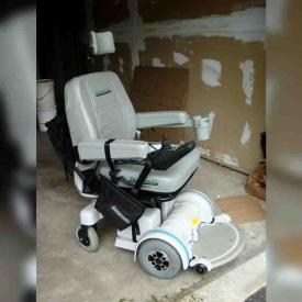 MaxSold Auction: This online auction features Hoveround, Dining Table and Chairs, Middle-Eastern Tapestry, Sofa Bed, LEGOS, Eighty 454 rpm records in a metal carrying case, SLR Camera and Carrying Case, Transport Chair and Toilet Chair, Gas Lawn Mower and much more!
