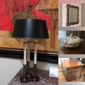 MaxSold Auction: This online auction features Kurelek Photolithograph, Framed Photographic Prints, Pendant Lights, Printer, Sectional Sofa, TV, Home Theatre System, Leather Chair, Adjustable Desk Top, Bergere Chairs, Patio Furniture and much more!