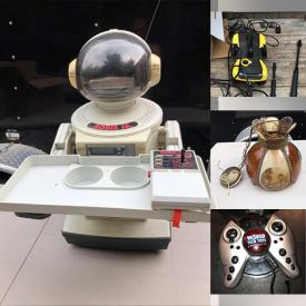 MaxSold Auction: This online auction features Vintage Video Games, Hand Tools, Vintage Toys, TONKA, STAR WARS, Sporting Equipment, Garden Tools, Action Figures, Ghost Busters, John Deere, Hot Wheels, The Beatles, Antique Bottles, Fishing Equipment, NERF and much more.