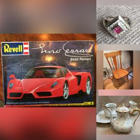 MaxSold Auction: This online auction features Ruby & Diamond Ring, Villeroy & Boch Bone China, Adult Coloring Books, Japanese Rice Bowls, Vintage Wood Fruit, Toys, Small Kitchen Appliances, NIB Cocktail Set, Lego Sets and much more!