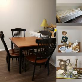MaxSold Auction: This online auction features coffee maker, candle holder, bathe items, hair care, skincare product, linens, wall arts, household decors, artificial flowers, lanterns, mirror trays, medical supplies, Christmas decors and ornaments and much more!