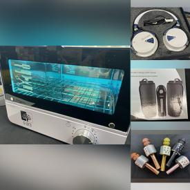 MaxSold Auction: This online auction features 4k Vlogging Camera, Karaoke Microphones, Electronics, Musical Instruments, Lamps, Grooming, Hair and Beauty care, Power Tools, Drones, Dash Cams, Gaming Systems, New Merchandise and much more.