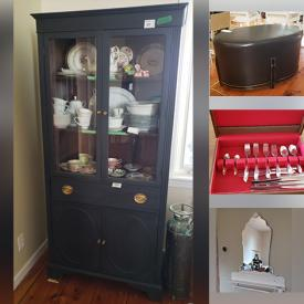 MaxSold Auction: This online auction features Furniture, Lego, Clocks, Cowhide Rugs, Christmas Decorations, Hats, Collector Plates, Television, Beds, Costume Jewelry, Cameras, Noritake China, Antiques, Patio Chairs And Cushions and much more!