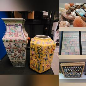 MaxSold Auction: This online auction features Women's Shoes, Purses, Hats, Belts, New iPad Screen Protectors, New Ipsy Cosmetic Products, Antique Chinese Vase, Rocks & Minerals, Reading Glasses, Earrings, Stamps and much more!