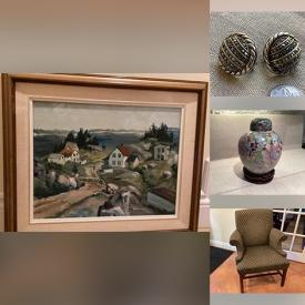 MaxSold Auction: This online auction features bowls, platters, kitchen items, men's wear, ski set, electrics, furniture, baby items, toys, kids books, medals, handbags, costume jewelry, home ornaments, office organizing items, pillows, tapes, gardening items and much more!