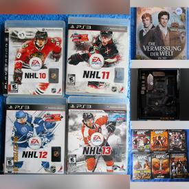 MaxSold Auction: This online auction features Video Games, DVDs, NIB Gaming Motherboard, NIB headset, Toys, Action figure, Blu-Ray Disk, New Nail Polish, Smart Watches, Drone, VR headset, PC Games, Print Cartridges, Hockey Gear, Beauty Products, Jewelry, WebCam and much more!