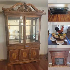 MaxSold Auction: This online auction features Bedroom Furniture, Kitchenware, Kitchen appliances, Glassware, China, Mantle clocks, Artwork, Wizard of Oz and Coca-Cola Collectibles, Handmade Blankets, Stained Glass, Tons of Jewelry crafting, Power Tools, Hand tools and much more.